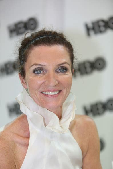michelle fairley comic con michelle fairley pictures warner bros entertainment at