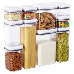 Staples Storage Cabinets Good Grips 174 10 Piece Pop Canister Set The Container Store