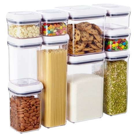 food canisters kitchen good grips 10 piece pop canister set by oxo the