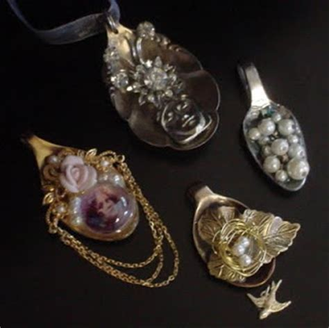 how to make jewelry from silverware how to make spoon and fork jewelry tutorials the beading