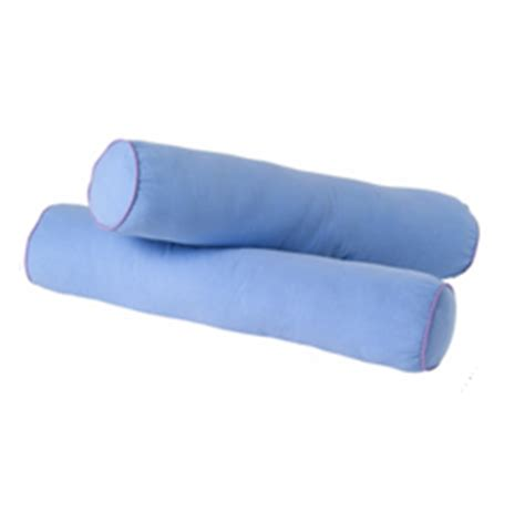 Babybee Kid Bolster Blue bolster pillows by maxtrix set of 2 any color