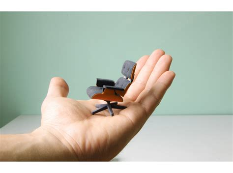 3d Printed Eames Lounge Chair Everybody Needs A Eames 3d Print In Their Shapeways Magazine