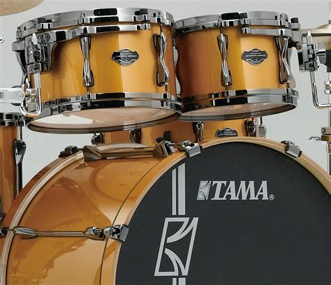 Tama Superstar Hyperdrive Maple Ml62hzbns 6 Fbf tama superstar hyper drive 6 in golden yellow metallic drum shop