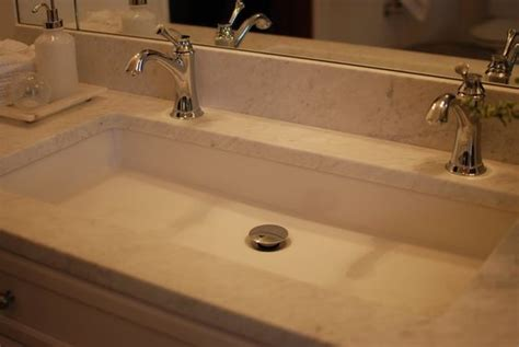 long undermount bathroom sink undermount long sink with two faucets nice solution for