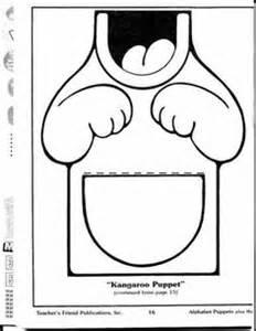 Kangaroo Puppet Template by Patronen Voor Papieren Zak Poppetjes On 48 Pins