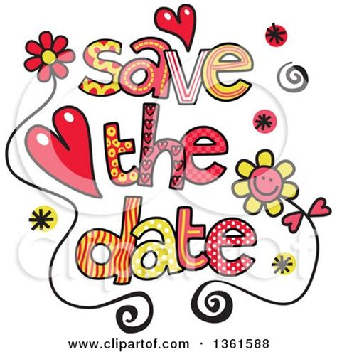 save the date elements vector free vector download in ai eps