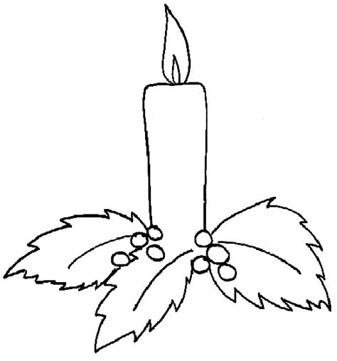 coloring pages of christmas candles christmas candles coloring pages