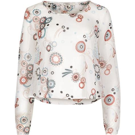 blouse liked on polyvore see more white long sleeve blouses 6104 best inspiration for style by lavender images on