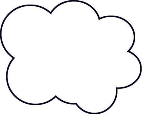 Cloud Template Diy Paper Cloud Mobile Tutorial Paper Clouds Cloud