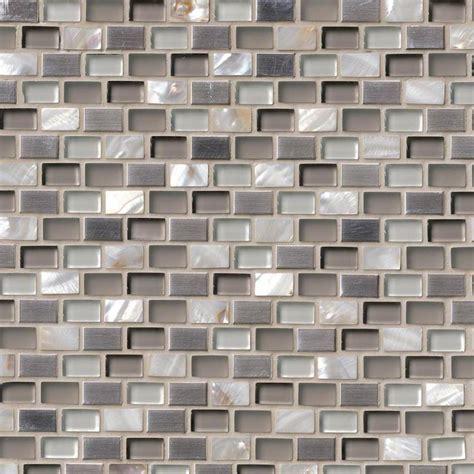 wall tiles for kitchen backsplash decor trends mosaic keshi blend mini brick 8 mm glass backsplash tile