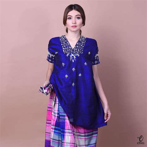 Baju Bodo Biru biar til beda 10 inspirasi baju bodo untuk kondangan ini bisa kamu coba