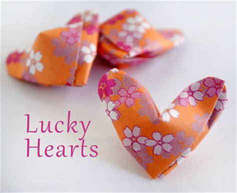 Origami Lucky - zakka origami lucky hearts