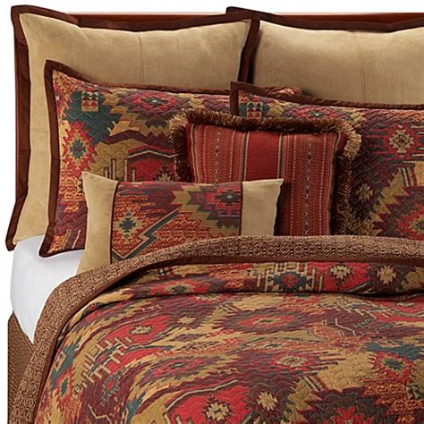 santa fe bedding santa fe quilt 100 cotton bed bath beyond