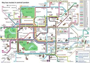 tourist map of central maps key routes by tourist attractions in central free printable map