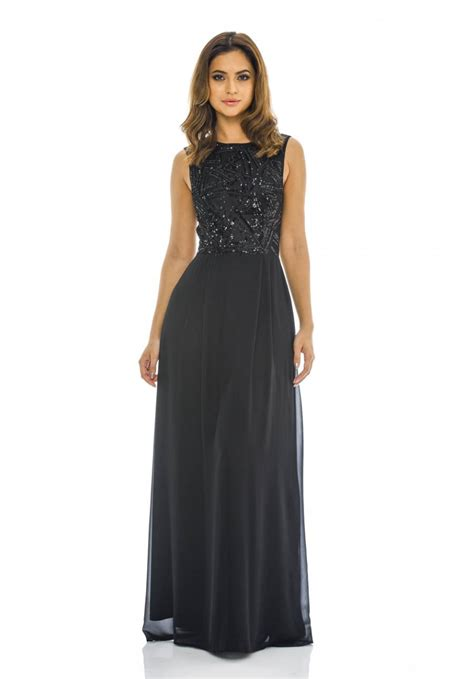 Dress Chiffon Top sequin top chiffon maxi dress