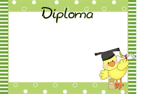 imagenes escolares para diplomas diplomas infantiles para personalizar imagui