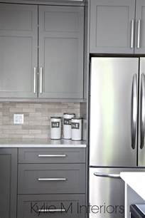 grey kitchen cabinets the 3 best gray and greige colours for cabinets and vanities