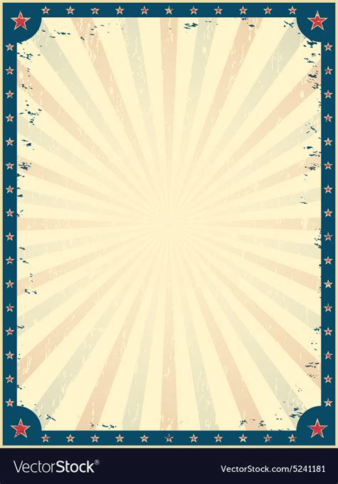 Vintage Circus Poster Template Royalty Free Vector Image Circus Poster Template Free