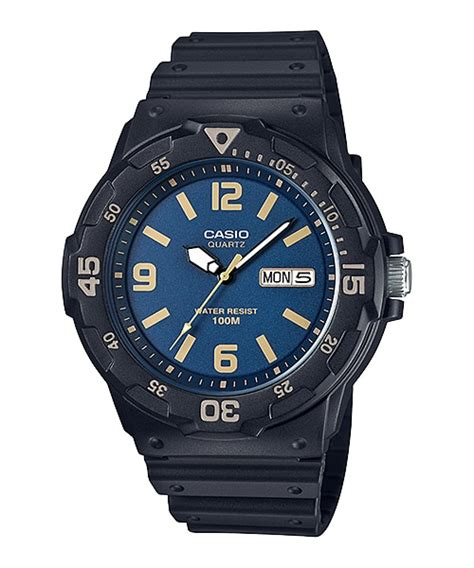 Casio Mrw 200h 4bvdf 100 Meter Water Resistance mrw 200h 2b3v analog s youth timepieces casio