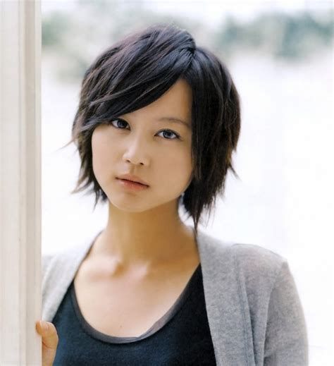 female asian short hairstyles female asian short