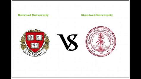 What Makes Harvard 2 2 Different From Regular Harvard Mba harvard vs stanford