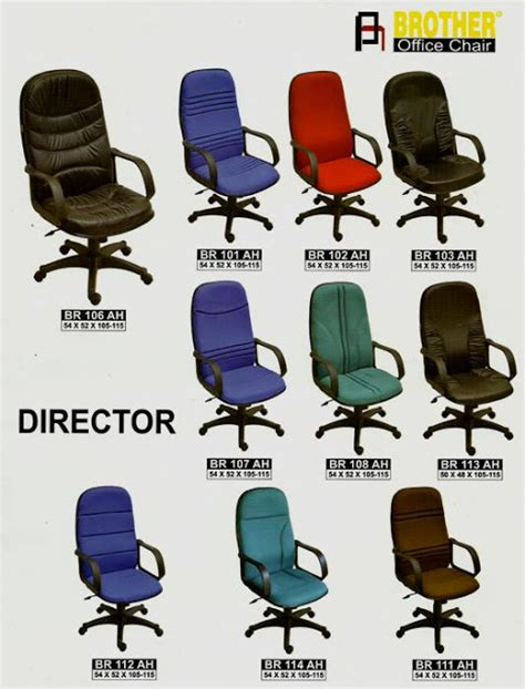 Kursi Direktur Br 101 Ah office chair