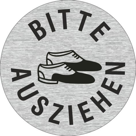 Schuhe Ausziehen by Piktogramme Quot Schuhe Ausziehen Quot Edelstahl Viele Gr 246 223 En