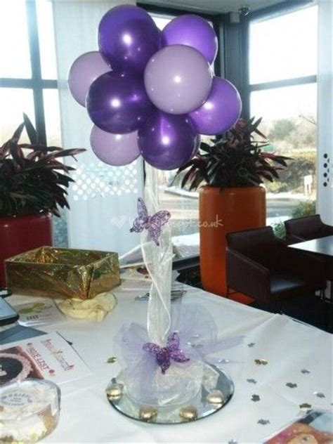 how to make balloon centerpieces for tables 25 best ideas about balloon centerpieces wedding on