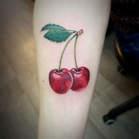 10 cherry tattoo designs ideas