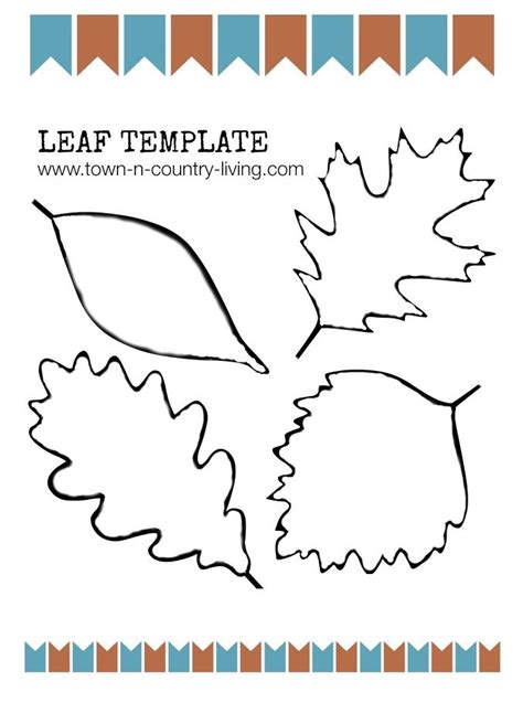 autumn leaf template free printables autumn leaf template autumn leaf template free printables free fall