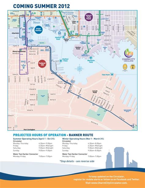 banner route is newest addition to charm city circulator