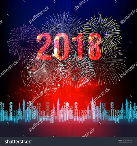 new year 2018 theme inspirational happy new year 2018 fireworks