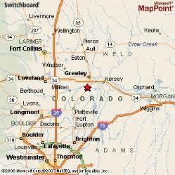 la salle county map la salle colorado