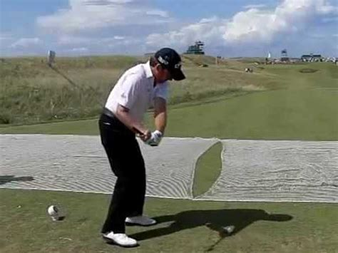 graeme mcdowell swing graeme mcdowell swing sequence golf videos from around