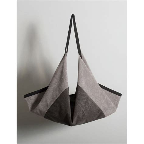 Folded Paper Bag - origami bag ideas