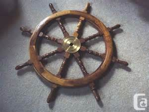 Ship Steering Wheel For Sale Canada Large Vintage Ships Nautical Wheel Abbotsford For Sale