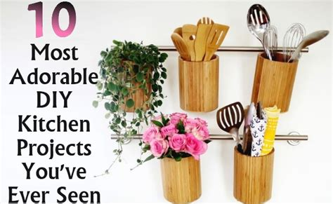 most popular diy projects 2016 10 most adorable diy kitchen projects you ve ever seen