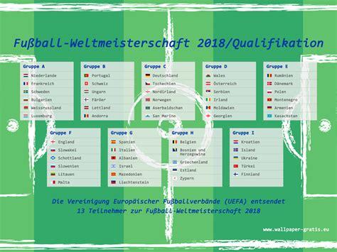 wann ist fussball wm fussball weltmeisterschaft 2018 russland qualifikation