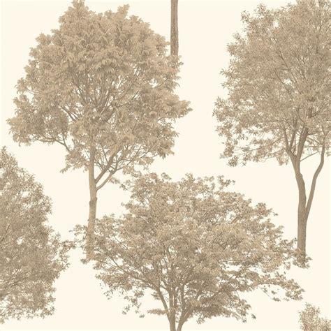 wallpaper trees gold fine decor woodland trees wallpaper gold cream fd40666