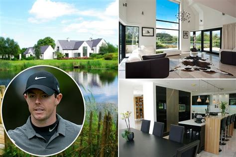 rory mcilroy house see inside rory mcilroy s former home as lavish property complete with golf course