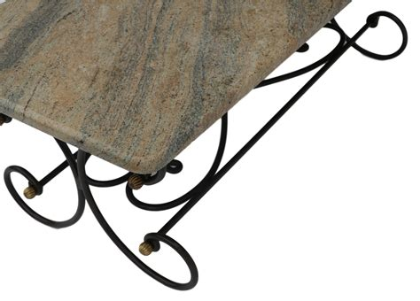 wrought iron table base for granite granite topped coffee table wrought iron metal base