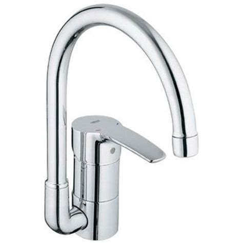 grohe faucets kitchen grohe 33986 eurostyle swivel spout kitchen faucet