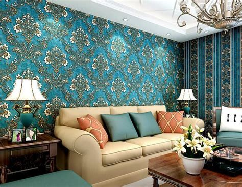 High Wallpaper For Bedroom Walls by 10m 3d Wallpaper Bedroom Living Wall Retro Background