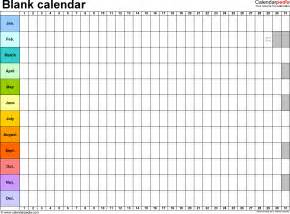 A Blank Calendar Template by Yearly Calendar Template Weekly Calendar Template