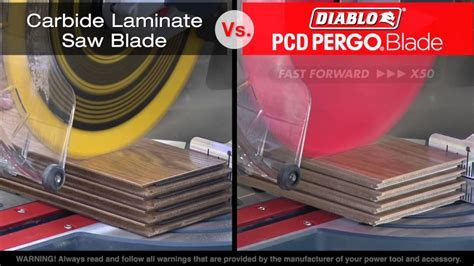 Diablo's PCD Tipped Pergo Saw Blade   For Wood Flooring