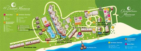 dorado resort map el dorado mexico map