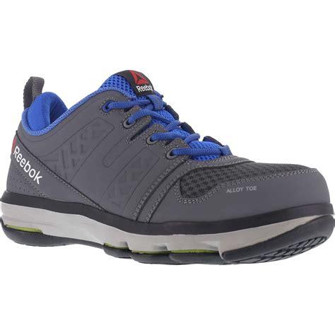 reebok safety shoes reebok dmx flex work alloy toe static dissipative work