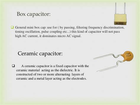 capacitor type advantages capacitor types advantages disadvantages 28 images tv remote jammer ppt capacitor start