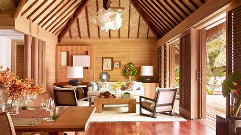resort home design interior four seasons resort bora bora located in polynesia