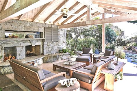 Outdoor Covered Patio Pictures by Cococozy 24 Million Dollar Malibu Estate See This House